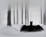 Frozen Forest by gryphon1