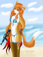 Red Fox - nyana adult by WOLF8989