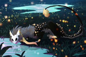 .:Smidge and his Fireflies:. by Ningeko16