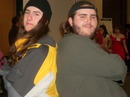 Jay n silent bob at the con by Im-ur-misconception