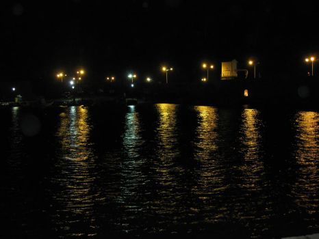 Port at Night by Gold1244