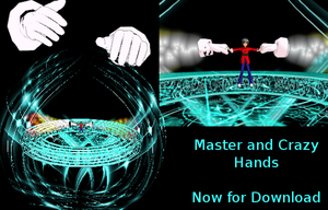 MMD Master and Crazy Hands DL by keemrap