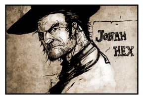 Jonah Hex sketch by SilviodB
