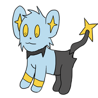 Shinx-Collab by Sparkheart1