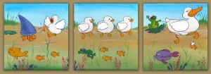 Duckies, fishies and frogs by Holly-Toadstool