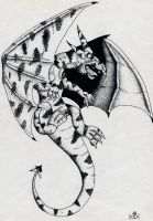 Old-Dotted Dragon by Eppon