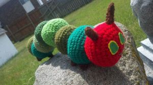 Hungry Caterpillar by Spritzykins