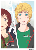 THG - Shoot me by Hallsth-Eien