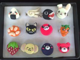 kawaii rings by alinsa