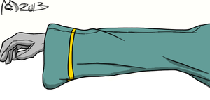 Arm Practice Coloring... Thing by GhostdramonX
