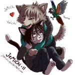 Cuddle-time by JeMiChi