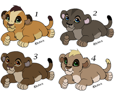 Adoptables - Closed by ArticWolf14