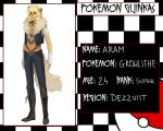 Pokemon Gijinkas - Aram by lordmegi