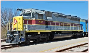 Erie Lackawanna 3607 by SMT-Images