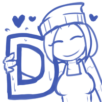 rip loves the d by FuPoo