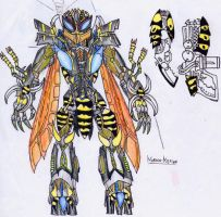 BW: Waspinator Redesign by Kaptain-Kefiah