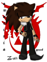 Homunculi Sonic Style Greed by Zero-sanTH