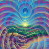 Nature and Love Vibrations by CosmicEye