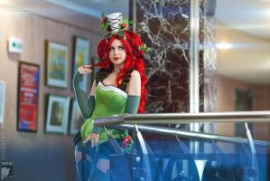 Poison Ivy Steam-Punk by Rei-Doll