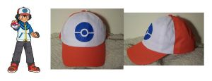Ash Ketchum Hat Best Wishes by SailorUsagiChan
