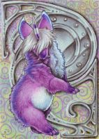 ACEO - A Mirror for the Blind by BloodhoundOmega
