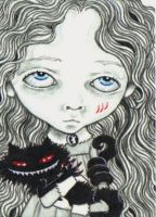 ACEO - Alice Reimagined by KootiesMom