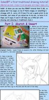 traditional drawing tutorial? by izka197