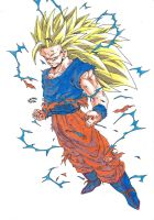 Dragonball Z - Regreso Goku Super Sayan 3 !!! by TriiGuN
