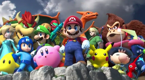 Super Smash Bros 4 Characters Cameo by pikachuandpichu106
