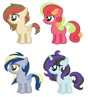 Pony Shipping Adopts by Cookie-Dolls
