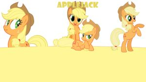 Applejack - Cover by MsFluttershy