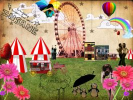 Circus Commotion by wednursedead
