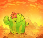 Cactus by Louivi