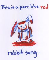 The Poor Blue Rabbit by Shadaily