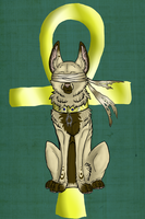 egyptian dog by Sonna-love