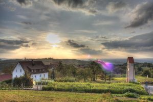Sunset in Swabia by Jared1
