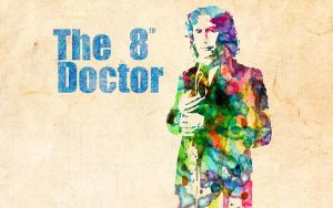 8th Doctor: Watercolor by ElijahVD