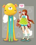 Lolita and Bear by marywinkler