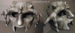 Gargoyle Mask D by Magpieb0nes