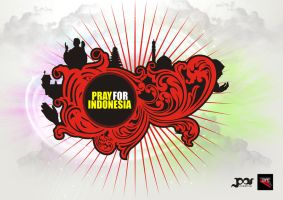 pray for indonesia by pascreative