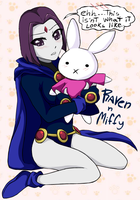 TT_Raven n miffy by G-Blue16