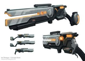 Ion Shotgun by AlexKonstad