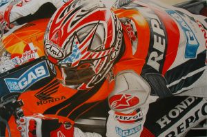 Nicky Hayden by LuckyNo4