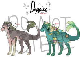 duppie adoptables set one by fudge