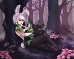League of Legends - Riven and Zac [Commission] by kapiheartlilly