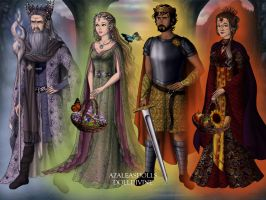 The Four Seasons al la Lord of the Rings by Arimus79