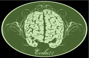 Fancy Green Evike Brain by evike71