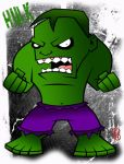 LIL HULK by Artist-MarcusAlley