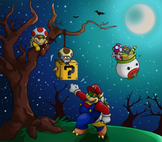 Happy Halloween Mario -2 by Yuese