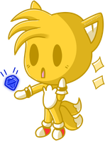 Tails Chibi by NeonStryker